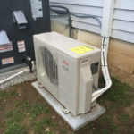 Fujitsu ductless mini split heatpump