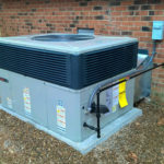 Trane gas pack unit