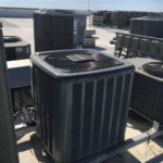 Amana heat pump on roof